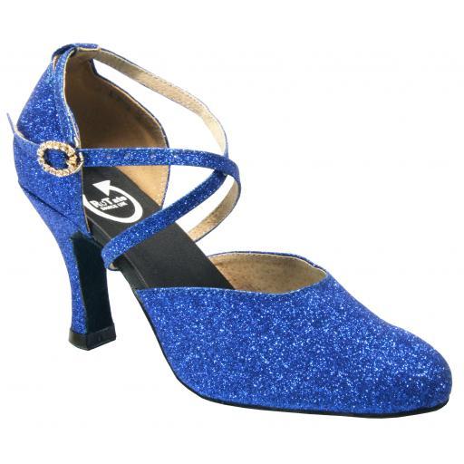 BELLE - blue glitter (o diamonte)